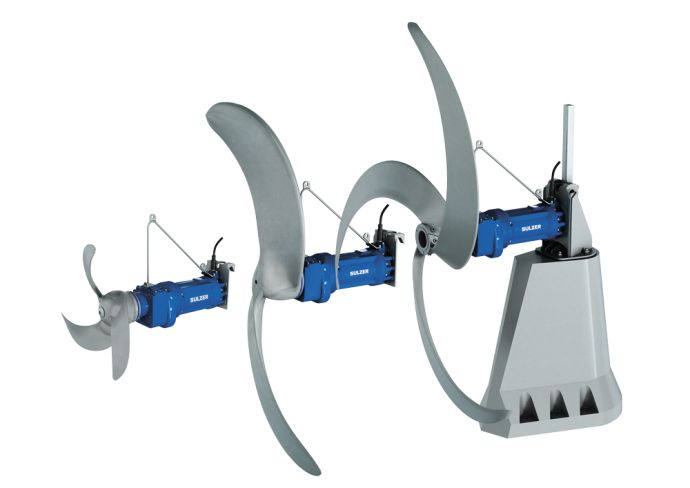 Потопени бавнооборотни флоубустери SULZER XSB