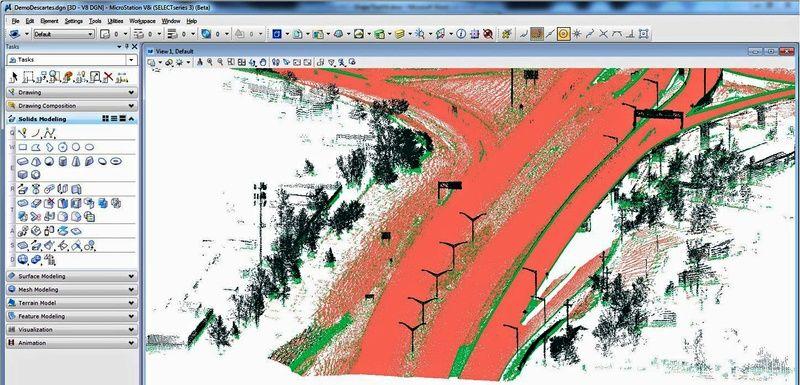 Обработка на растерни и 3D изображения в инфраструктурни проекти с Bentley Descartes