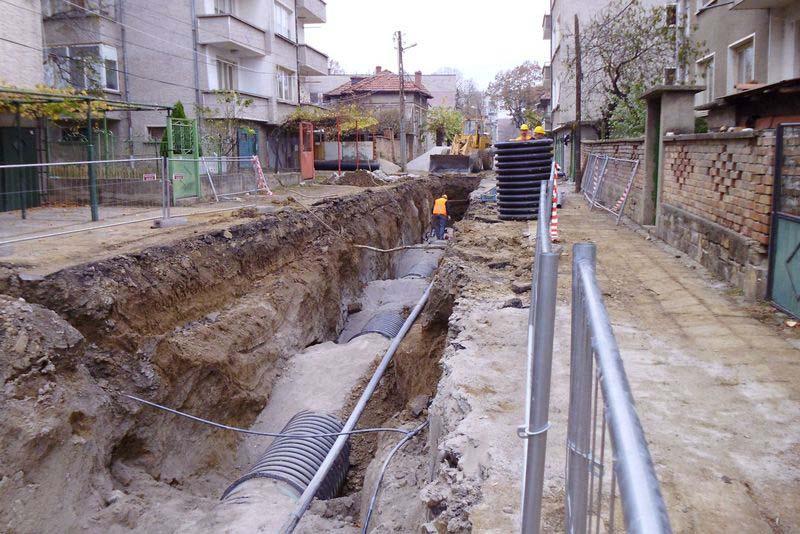Община Севлиево с търг за реконструкция на канализационни клонове