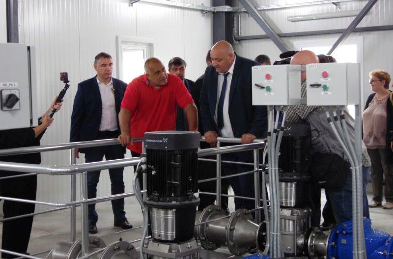 Нова пречиствателна станция за питейни води ще заработи в Котел