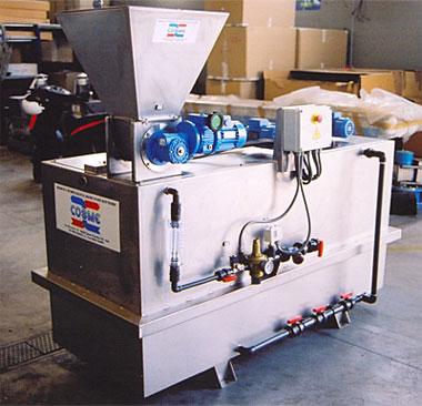 Автоматична полимерна станция, серия SPP от COSME