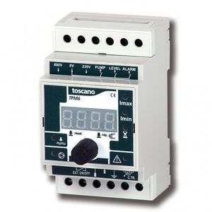 Mултифункционалнo реле за управление и защита на помпи и двигатели - TPM6