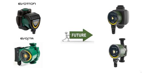 Циркулационни помпи EVOSTA2 И EVOSTA3 с 5 години гаранция от DAB Pumps