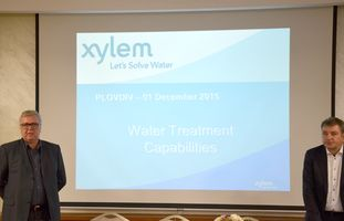 Алмекс представи актуални решения за питейни и отпадъчни води от Xylem