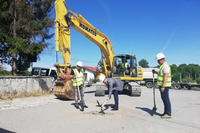 Започна изграждането на канализацията в квартал Рилци в Добрич