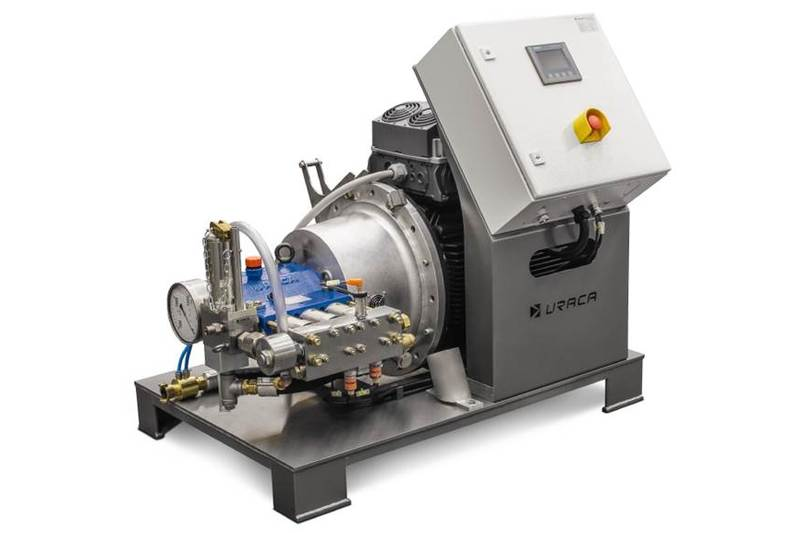 Стандартизирани помпени агрегати URACA до 37 kW
