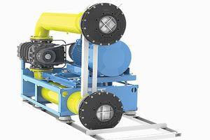 Взривозащитена версия въздуходувки Kubicek 3DPA