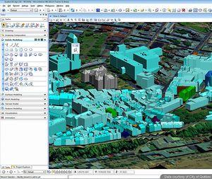 Решения за изграждане на 3D GIS модели