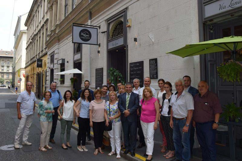 БАВ посети унгарската асоциация по водоснабдяване MaViZ