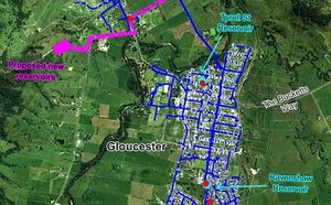 MidCoast Water трансформира ВиК мрежата в Глостър с помощта на <strong>Bentley</strong> WaterGEMS