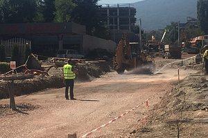 Изграждат 800 м водопровод в София