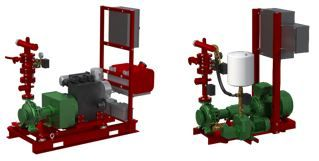 Нови противопожарни системи 1KDN COMPACT съгласно EN12845