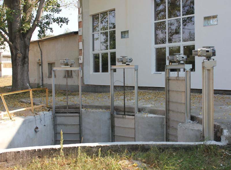 Напредва реконструкцията на пречиствателната станция в <strong>община</strong> Долна Митрополия